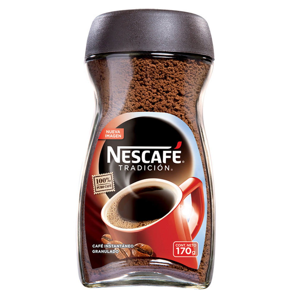 CAFE NESCAFE INSTANTANEO X 170 GRS (IVA 5)